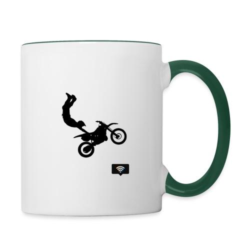 Biker Dress - Tazze bicolor