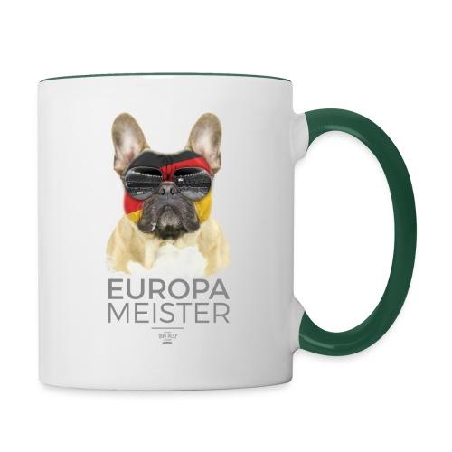 Europameister Deutschland - Tasse zweifarbig