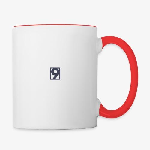 9 Clothing T SHIRT Logo - Contrasting Mug