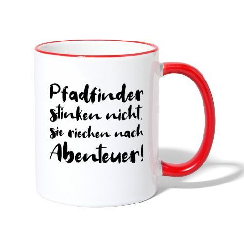 Pfadfinder stinken nicht … - Farbe frei wählbar - Tasse zweifarbig