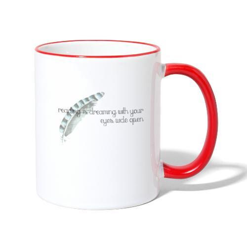 Reading is Dreaming - Contrasting Mug