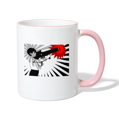 Peace Please - Contrasting Mug