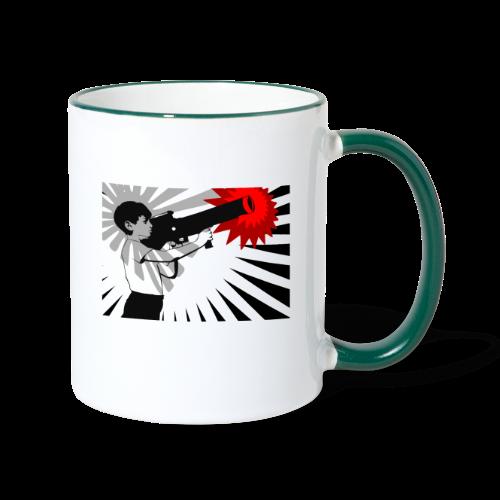 Peace Please - Contrasting Mug