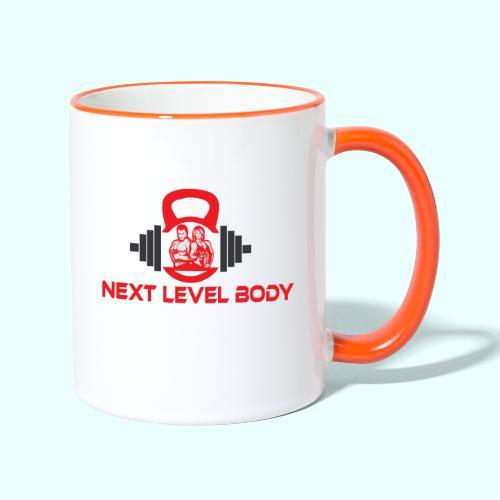 NEXT LEVEL BODY - Kaksivärinen muki