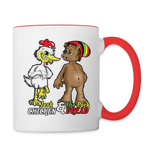 Jerk chickenPork Dread - Contrasting Mug