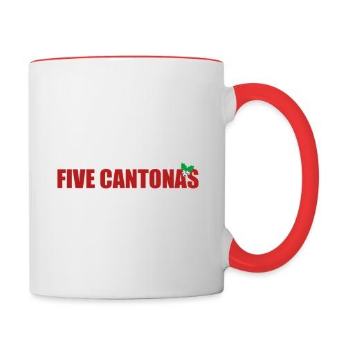 Five Cantonas - Contrasting Mug