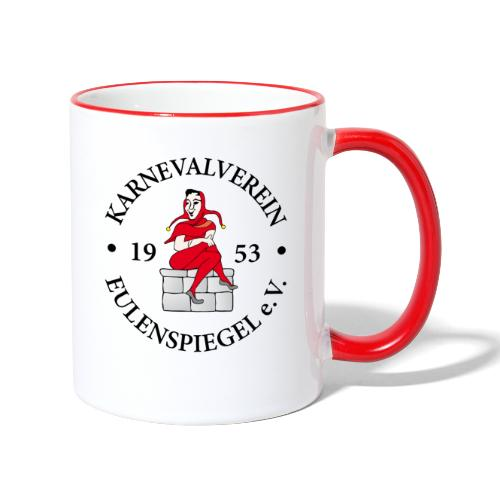 KVE Clubdesign - Tasse zweifarbig