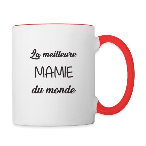 La meilleure mamie du monde - Mug contrasté