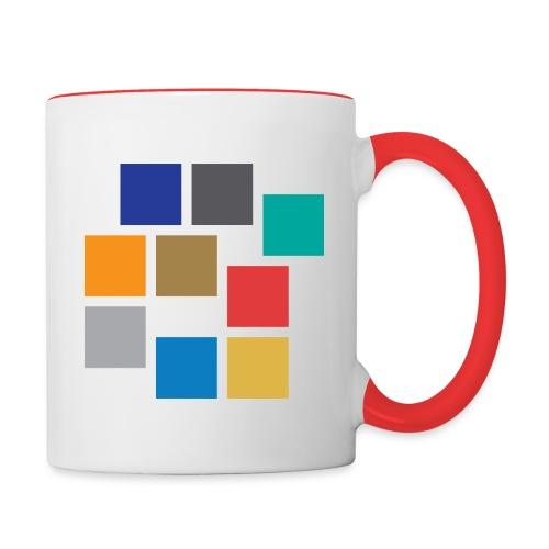 Logo SGroup transparent - Tasse zweifarbig