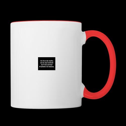 drôle - Mug contrasté