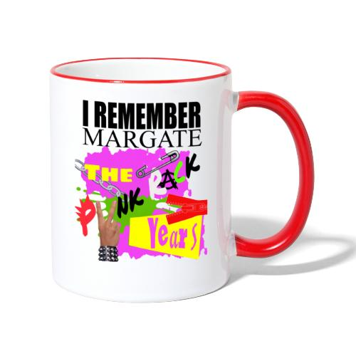 I REMEMBER MARGATE - THE PUNK ROCK YEARS 1970's - Contrasting Mug