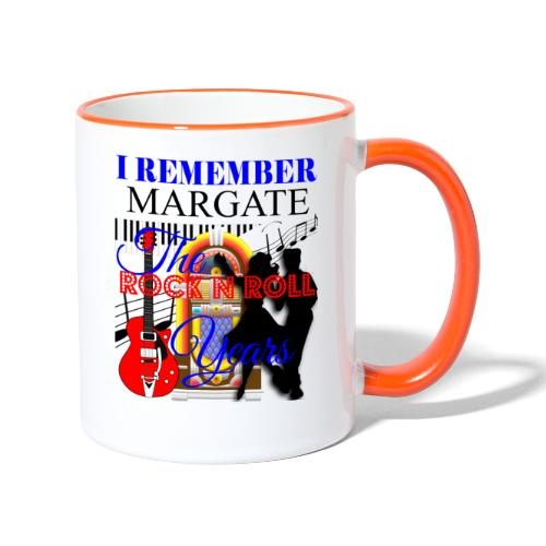 REMEMBER MARGATE - THE ROCK ROLL YEARS 1950's - Contrasting Mug