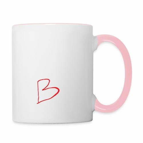 limited edition B - Contrasting Mug