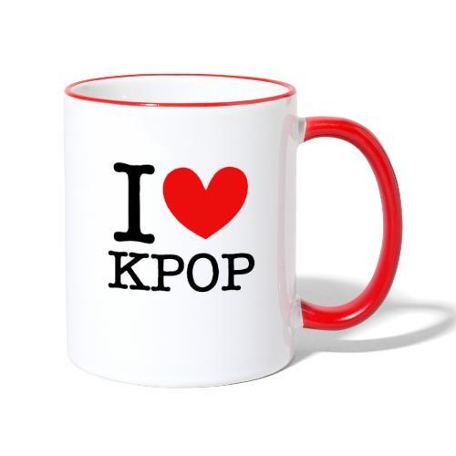 Kpop - Tasse zweifarbig