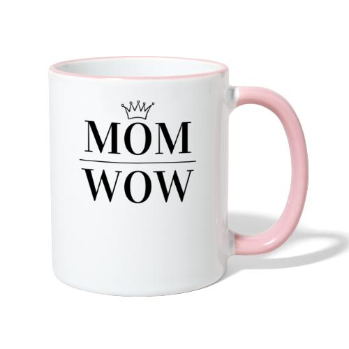 MOM WOW - Contrasting Mug