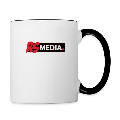 RS Media - Tasse zweifarbig