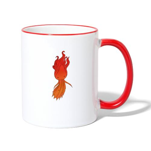 Red nymph - Tofarvet krus
