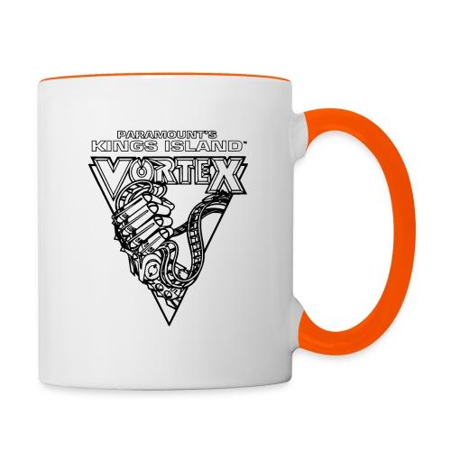 Vortex 1987 2019 Kings Island - Kaksivärinen muki