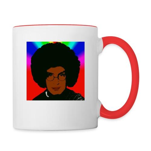 afro1 - Tasse zweifarbig