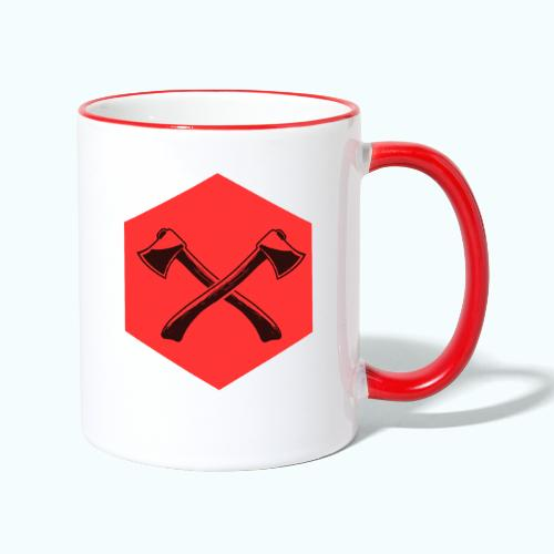 Hipster ax - Contrasting Mug