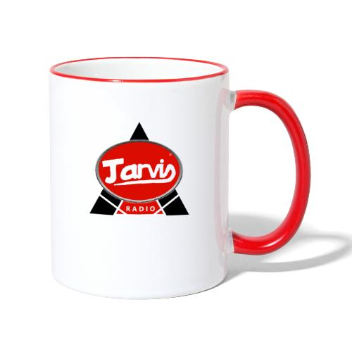 Jarvis Radio Logo - Contrasting Mug