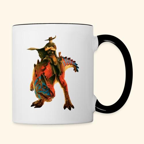 Dino Storm Cowboy - Contrasting Mug