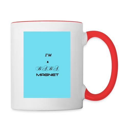 BABE MAGNET - Contrasting Mug