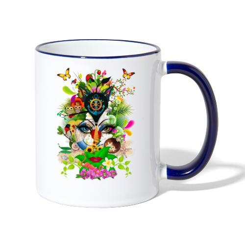 Parfum d'été by T-shirt chic et choc - Mug contrasté