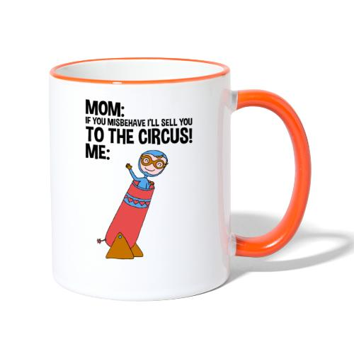 SELL TO THE CIRCUS - FUNNY KIDS ARTISTS - CIRCO - Tazze bicolor