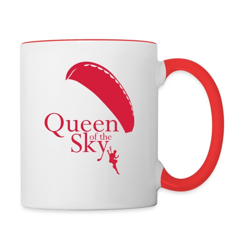 Queen of the Sky - Tasse zweifarbig