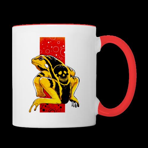 Death Frog - Kubek dwukolorowy