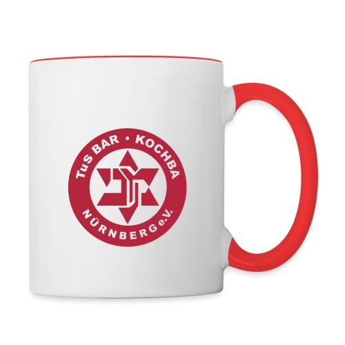 Kochba official - Tasse zweifarbig