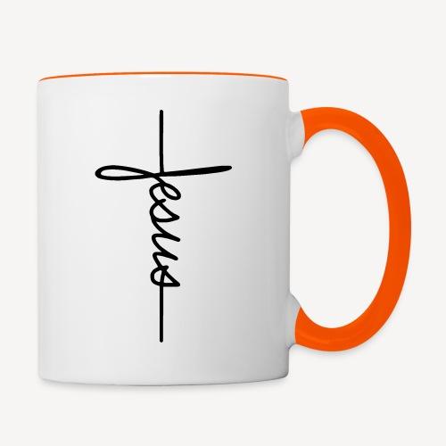 JESUS SIGNATURE - Contrasting Mug