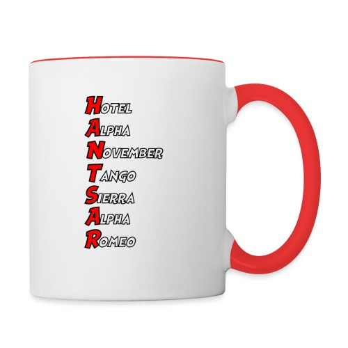 HANTSAR - Phonetic - Contrasting Mug