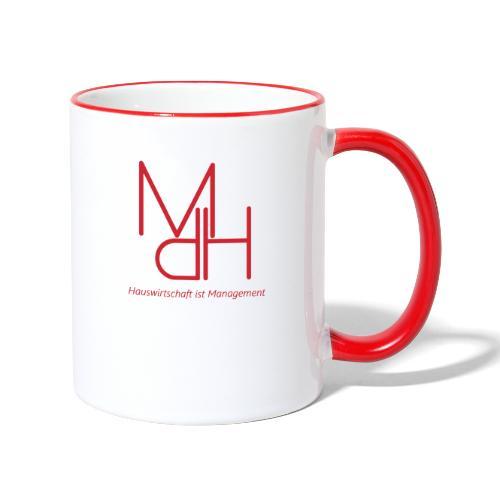 MdH - Hauswirtschaft ist Management - Tasse zweifarbig