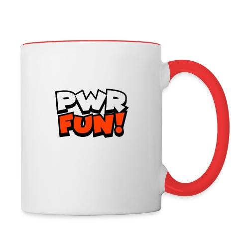 PWR FUN! - Taza en dos colores