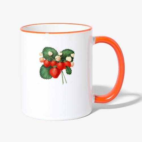 The Strawberries - Tvåfärgad mugg
