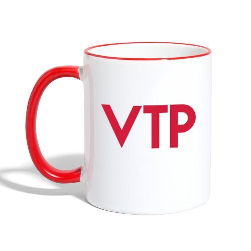 VTP Logo - Mok tweekleurig