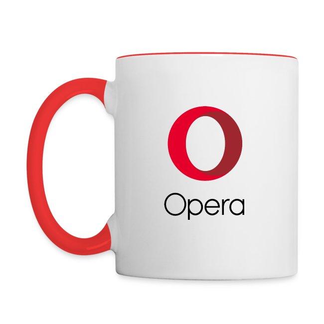 Opera logo vertical