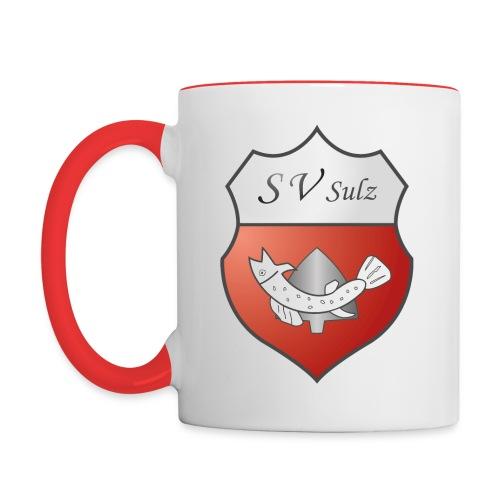 SVS Logo 3D - Tasse zweifarbig