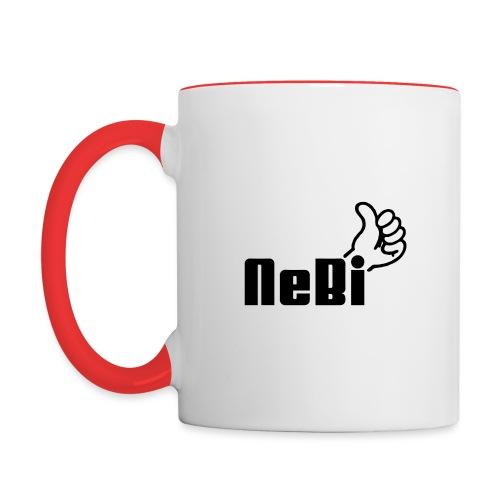 NeBiLOGO - Kaksivärinen muki