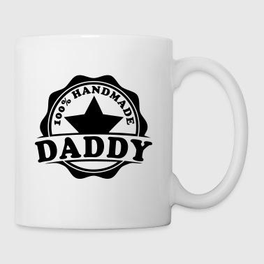 daddy 100 percent handmade  - Tasse