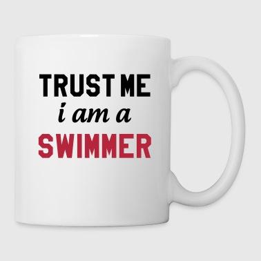 Trust me i am a Swimmer - Kubek