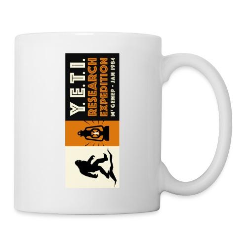 A la recherche du Yeti - Mug blanc