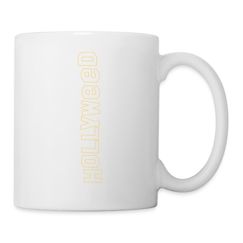 Hollyweed shirt - Mug blanc