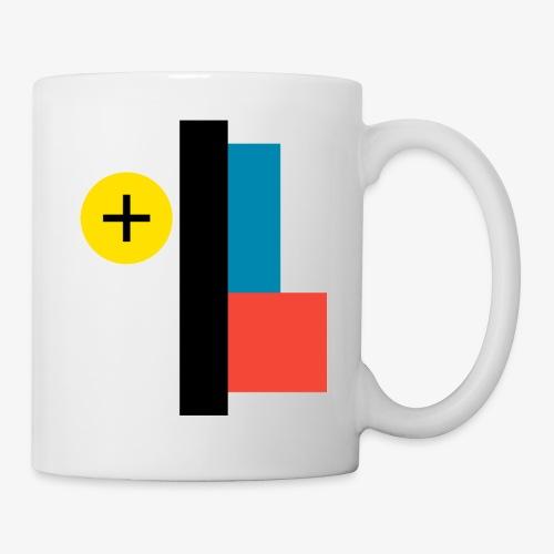 BAUHAUS pattern - Mug blanc