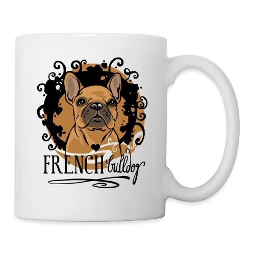 French Bulldog bunt - Tasse