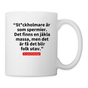 The Typical Stockholmare - Mugg