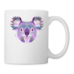 Triangle vector koala - Tazza