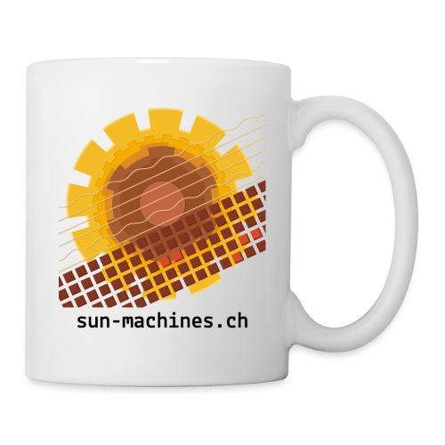 sunmachines logo text transparent png - Tasse